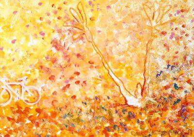 rinascita dell´uomo piantato - cm 57x45